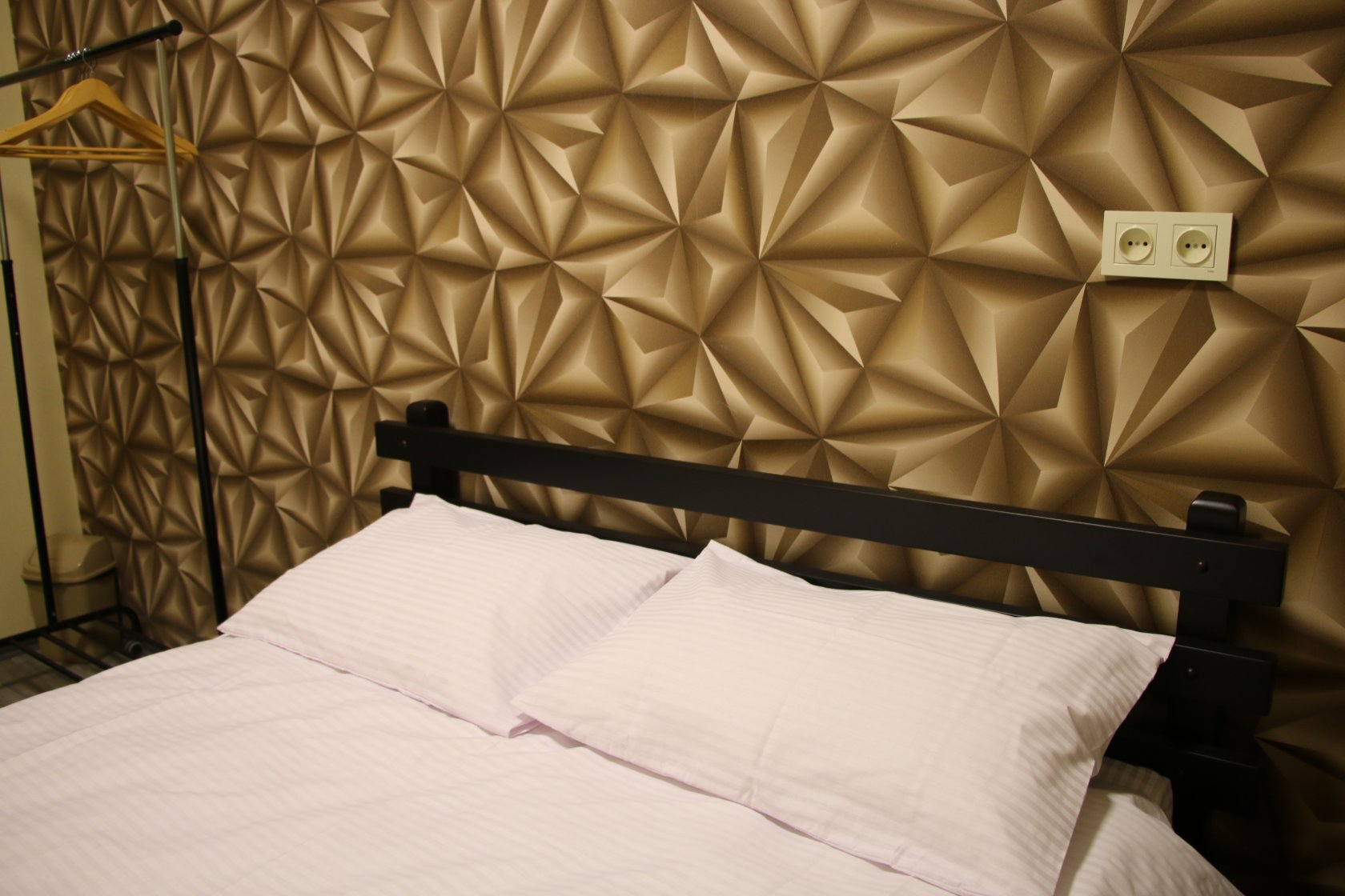 500₴ Room with double bed in new premium hostel